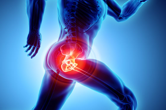 Treatment of hip injuries